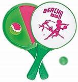 Idena 7408444 - 2 in 1 Beachball und Klettball im