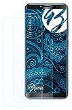Bruni Schutzfolie kompatibel mit Oukitel K6 Folie, glasklare Bildschirmschutzfolie (2X)