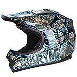 CARTMAN DOT Youth Motocross Offroad Street Skull Motorcycle Full Face Child Helmet