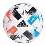 Adidas Men's Tsubasa PRO Soccer Ball, White/Solar red/Glory Blue/Black, 5