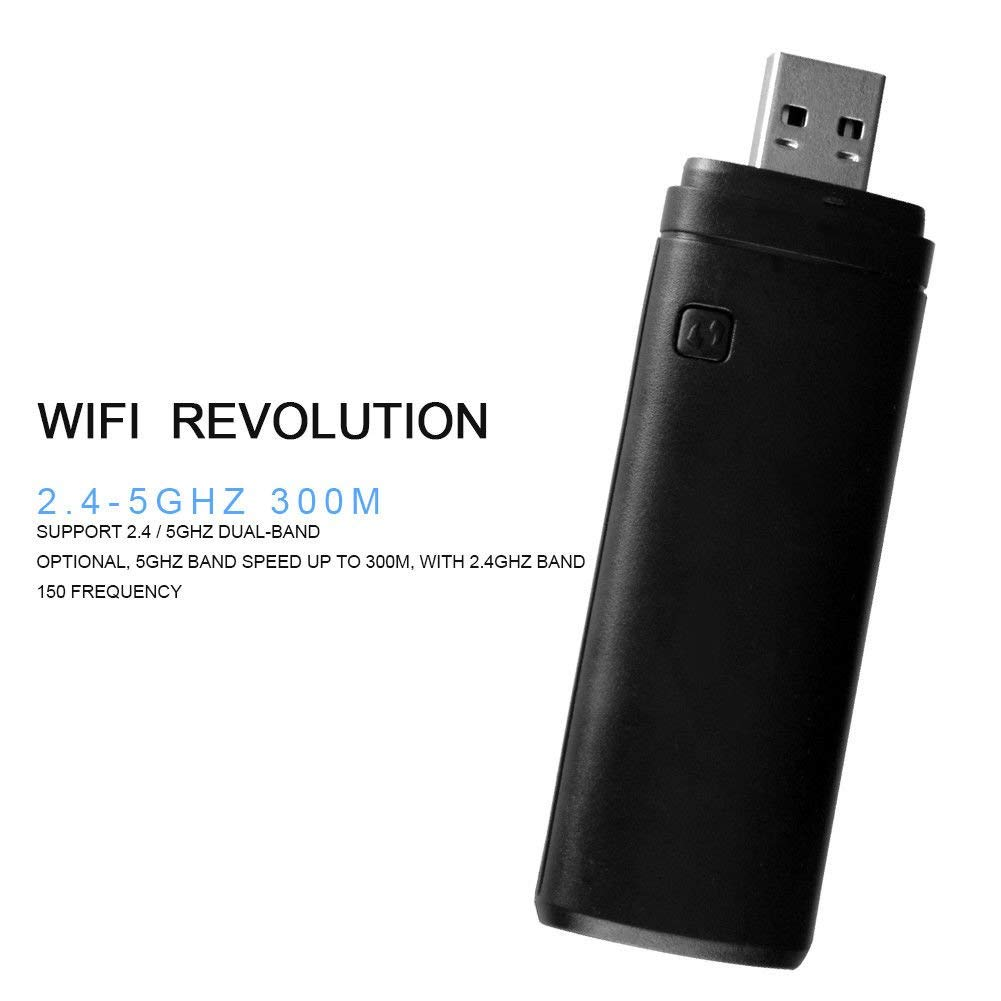 Bebester - Adaptador inalámbrico USB para TV (300 Mbps, 2,4-5 GHz, WIS12ABGNX WIS09ABGN, Adaptador inalámbrico WiFi LAN, Adaptador USB para Samsung Smart TV 802.11 A/B/G/N): Amazon.es: Informática