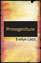 Primogeniture