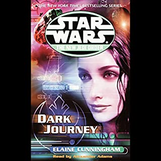 Star Wars: The New Jedi Order: Dark Journey cover art
