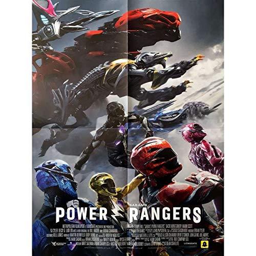 POWER RANGERS Affiche de film 40x60 cm - 2017 - Dacre Montgomery, Dean Israelite