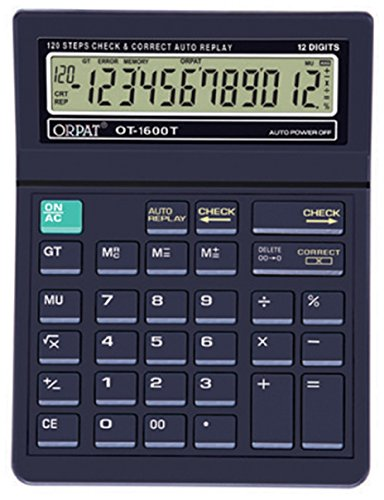 Orpat OT 1600T Calculator