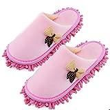 Xunlong Zapatillas de microfibra para limpieza de piso Fregona...