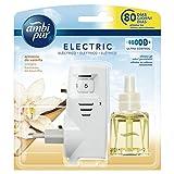Ambi Pur Vaniglia Deodorante per Ambienti con Diffusore Elettrico, Starter Kit, 21.5ml