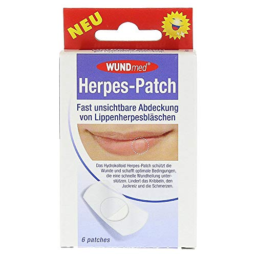 Herpes Patch Hydrokolloid 6 Stück