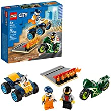 LEGO City Stunt Team 60255 Bike Toy, Cool Building Set for Kids, New 2020 (62 Pieces)