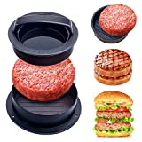 3. YEVIOR Burger Press,Different Sizes Hamburger Patty Maker,3 in1 Nonstick Patty Molds,Works Best for Stuffed Burgers,Perfect Shaped Patties,Sliders/Regular Burger for Grilling Cooking