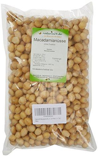 Naturix24 Macadamia Nüsse roh, 1er Pack (1 x 1 kg)
