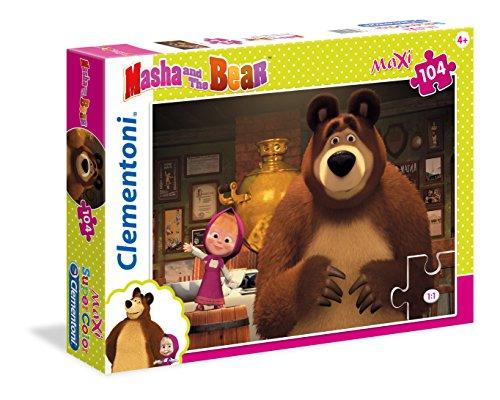 Clementoni 23710–Puzzle Masha y OSO , color/modelo surtido
