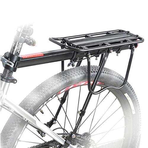 Posterior De La Bicicleta Portabicicletas Extraíble Del Estante Del Pannier Del Portador Del Sostenedor Del Estante Ajustable De Alta Capacidad Portador De La Bici Estante De Bicicleta De Montaña