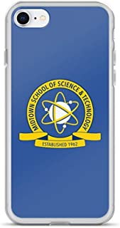 iPhone XR Pure Clear Case Cases Cover Midtown School of Science and Technology Logo