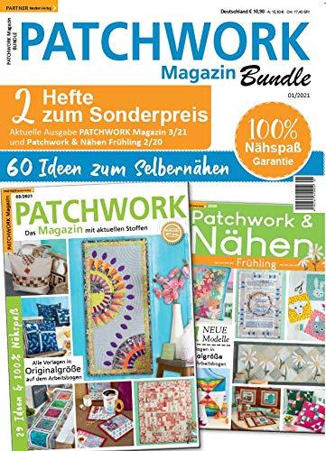 "Patchwork Magazin Bundle 1/2021 \""Patchwork Magazin Bundle 1/21\"""