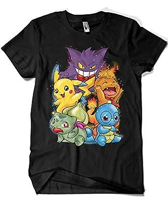 1527-Camiseta Premium, Pokemon - Pokegroup por
