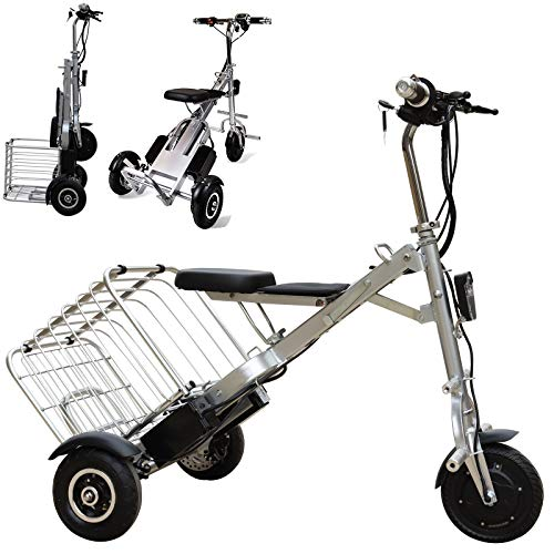 Bicicleta Electrica Plegable Urbana, Peso ligero...