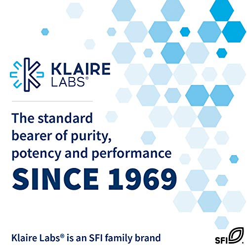 Klaire Labs Active B12-Folate Lozenges - Vitamin B12 Supplement (Methylcobalamin) with Methyl Folate - Mood & Energy Support Methyl B-12 Lozenge - Tastes Great (60 Dissolvable Tablets)
