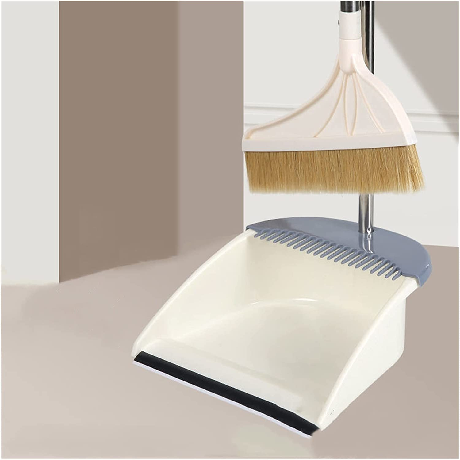 Broom and dustpan NEW before selling Mane Dustpan Dust Set Cleaning Floor outlet