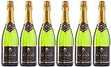 LACHETEAU Saumur Vin Mousseux Blanc Cuvée Ephémère 750 ml - Lot de 6
