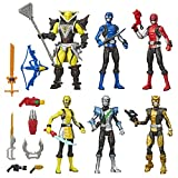 Power Rangers Beast Morphers 6 Inch Action Figure Multipack 6 Figures Included and Villain Toys with Accessories Inspired by The TV Show