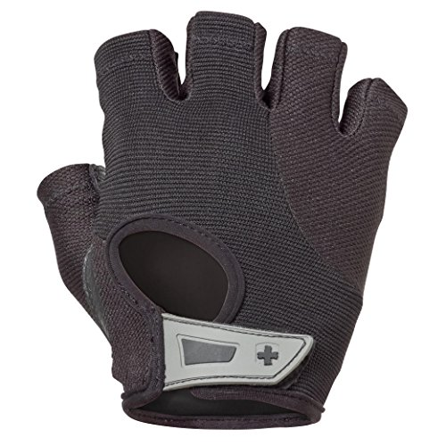 Harbinger 15420 Women's Power Weightlifting Gloves with StretchBack Mesh and Leather Palm (Pair)