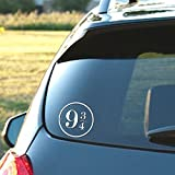 HP Inspired Platform 9-3/4 Vinyl Decal Sticker Laptop Window Car Truck | White | 5.5'