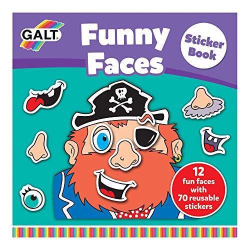 Galt Toys Funny Faces Sticker B