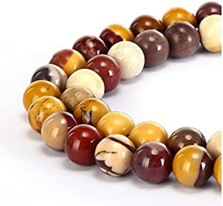 2 Strands Top Quality Natural Mookaite Jasper Gemstone 4mm Small Round Loose Gems Stone Beads for Jewelry Craft Making GF22-4