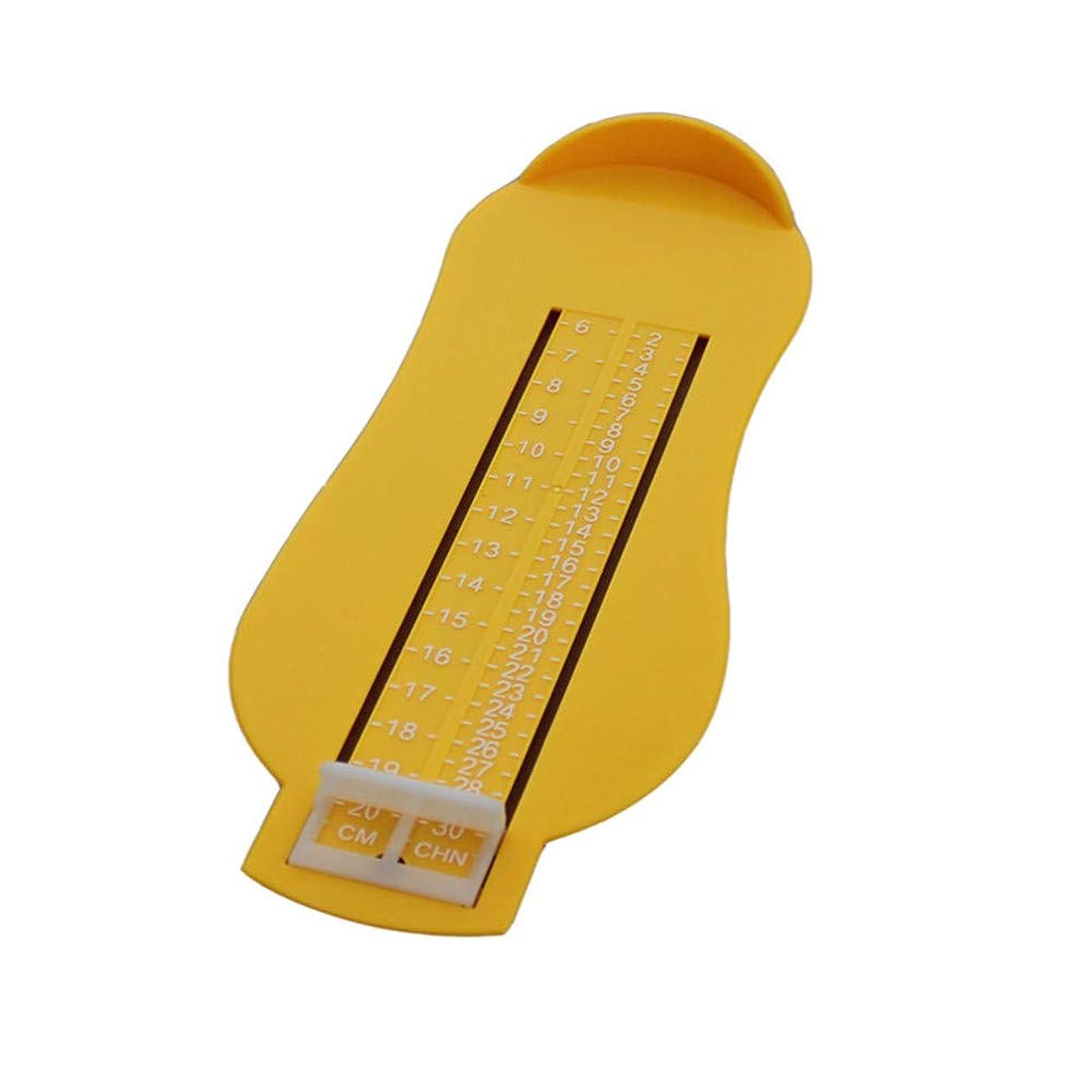 信号として離婚LVESHOP キッズベビー幼児テープフットメジャーキッズ測定装置 (色 : T3)
