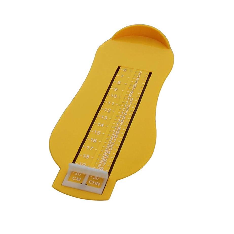 アイデア定数成功するLVESHOP キッズベビー幼児テープフットメジャーキッズ測定装置 (色 : T3)