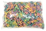 Trolli Sour Brite All Star Mix Assorted Shapes and Flavors Including Crawlers, Sloths, Octopus, Llamas, and Tiny Hands, Sour Gummi Candy, 5 Pounds