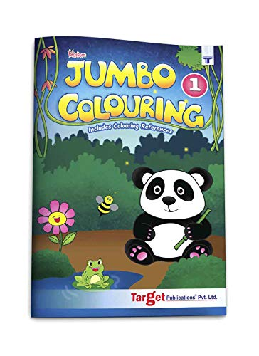 Blossom Jumbo Colouring Book for Kids 3 years to 5 years old   Drawing, Coloring and Art Book for Girls and Boys   A3 Colour Book for Kids   Level 1 [Paperback] Content Team at Target Publications