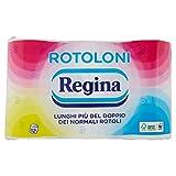 Carta Igienica Regina Rotoloni - 2 Confezioni da 12 Rotoli [24 Rotoli]