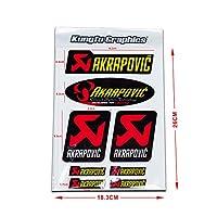 KUNGFU GRAPHICS カンフー グラフィックス サイレンサーステッカー デカール サイレンサー レーシングスポンサーロゴ マイクロデカールシート (イエロー)