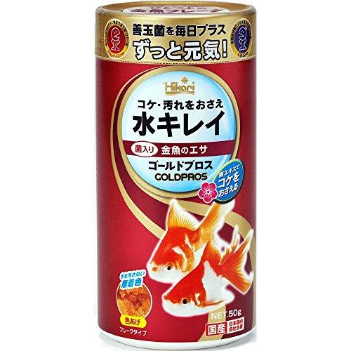 キョーリン ひかり菌&GB菌配合 金魚用フレーク ゴールドプロス 50g