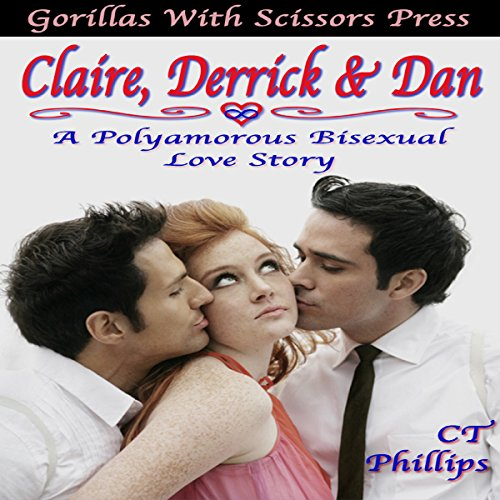 Claire, Derrick, & Dan audiobook cover art