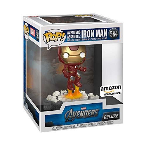 Funko Pop! Deluxe, Marvel: Avengers Assemble Series - Iron Man, Amazon Exclusive, Figure 1 of 6