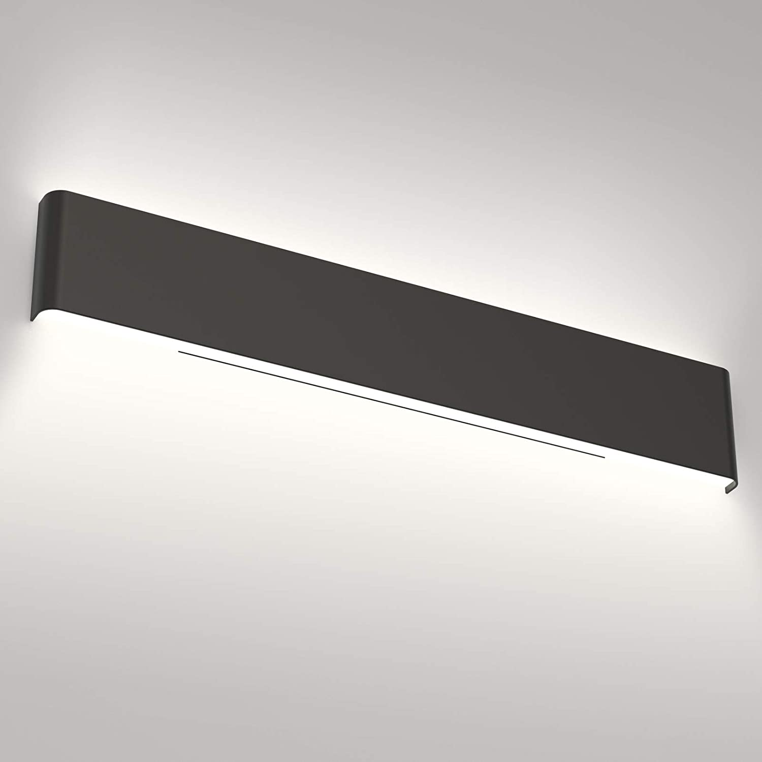 Aipsun 32.6 Rare Challenge the lowest price of Japan ☆ inch Modern Black Light Ba Fixtures LED Vanity