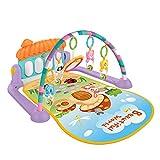 MAJOZ0 Palestrina Neonato Multifunzione, Tappetino da gioco per Bambini con Pianoforte e M...
