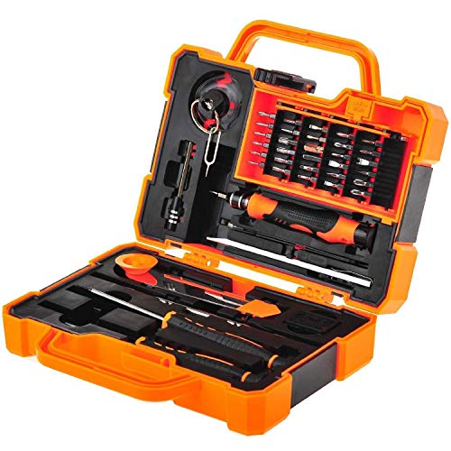 EEEKit Precision 45 in 1 Screwdriver Set Repair Maintenance Kit Tools for iPhone, iPad, Samsung Cell Phone,Tablet PC, Laptop,Computer and Other Electronic Device (45 in 1)