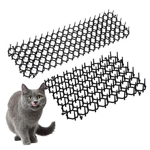 LUCYPAPASHOW Cat Scat Mat, Haushalt Indoor Outdoor Cat Hund Kunststoff Nagel Cat Abschreckungsmatte Garten Anti-Katze Und Pest Prickle Strips Sofa Möbelschutz Cat Scat Mat