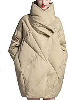 CWSY Large Size Thick Down Jacket Female 2019 Autumn and Winter New Loose White Duck Down High-End Fashion Women's Clothing