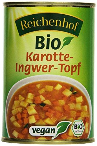 Reichenhof Bio Karotte-Ingwer-Topf  - vegan, 6er Pack (6 x 400 g)