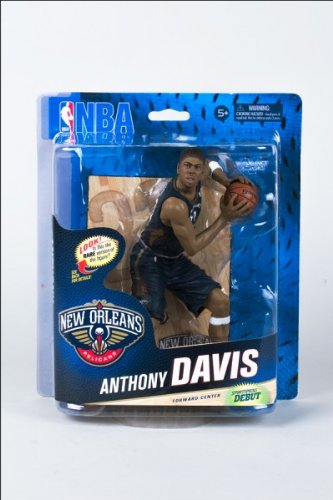 McFarlane NBA Series 24 CL Gold ANTHONY DAVIS - New Orleans Pelicans #500 Figur