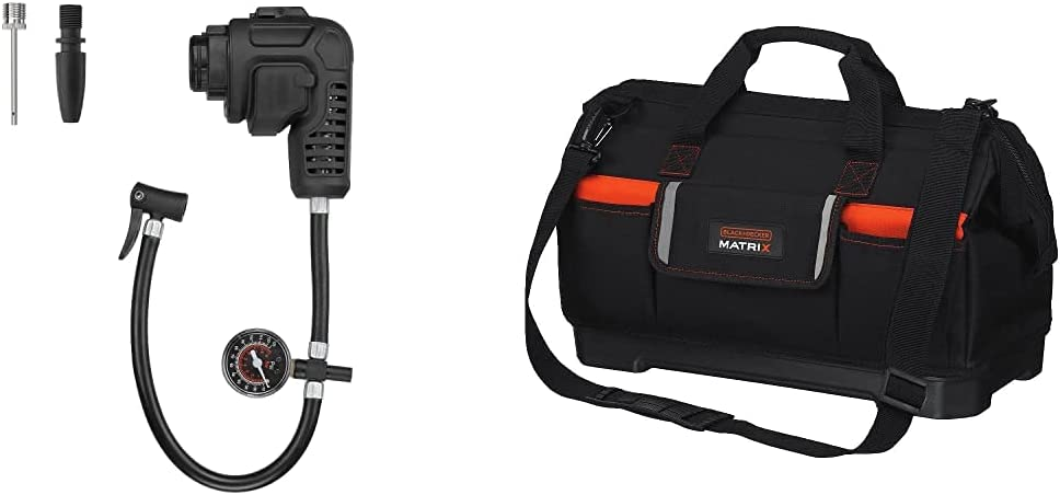 BLACK+DECKER Inflator Multi-Tool Attachment with Max 56% OFF Bag f Max 67% OFF Tote Tool