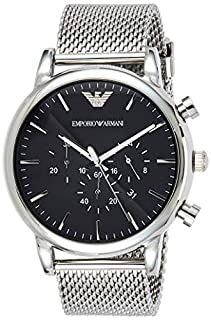 Emporio Armani Reloj para Hombre de Cuarzo con Correa en Acero Inoxidable AR1808 (B00JGODRKQ) | Amazon price tracker / tracking, Amazon price history charts, Amazon price watches, Amazon price drop alerts