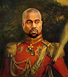 Celebrity Prayer Candles Kanye West Yeezy Poster –