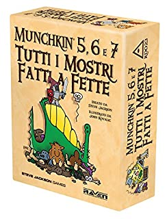 Raven - Munchkin 5, 6 e 7 - Tutti I Mostri Fatti a Fette (B00ARFHREA) | Amazon price tracker / tracking, Amazon price history charts, Amazon price watches, Amazon price drop alerts