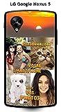 Coque personnalisee LG Google Nexus 5 - avec VOS photos.